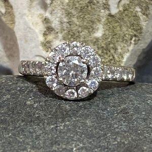 Jewelry - Ladies Wedding Ring 23 Diamonds .47CTTW in 14K WG